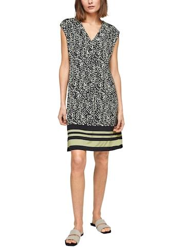 s.Oliver BLACK LABEL Jerseykleid, im hochwertigen Alloverprint kaufen