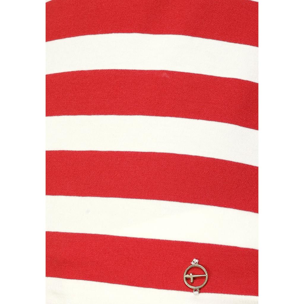 Tamaris Langarmshirt, mit Schleifendetail am Rücken - NEUE KOLLEKTION
