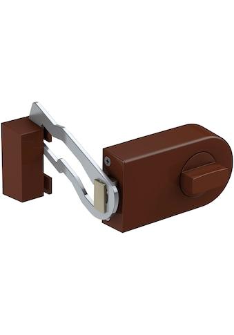 BASI Kastenriegelschloss »KS 500«, Dornmaß 70 mm - braun (abgerundet), Sperrbügel kaufen