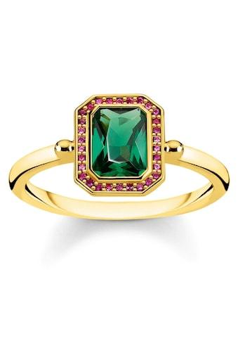 THOMAS SABO Fingerring »Steine rot & grün Gold, TR2264 - 973 - 7 - 52, 54, 56, 58, 60« kaufen