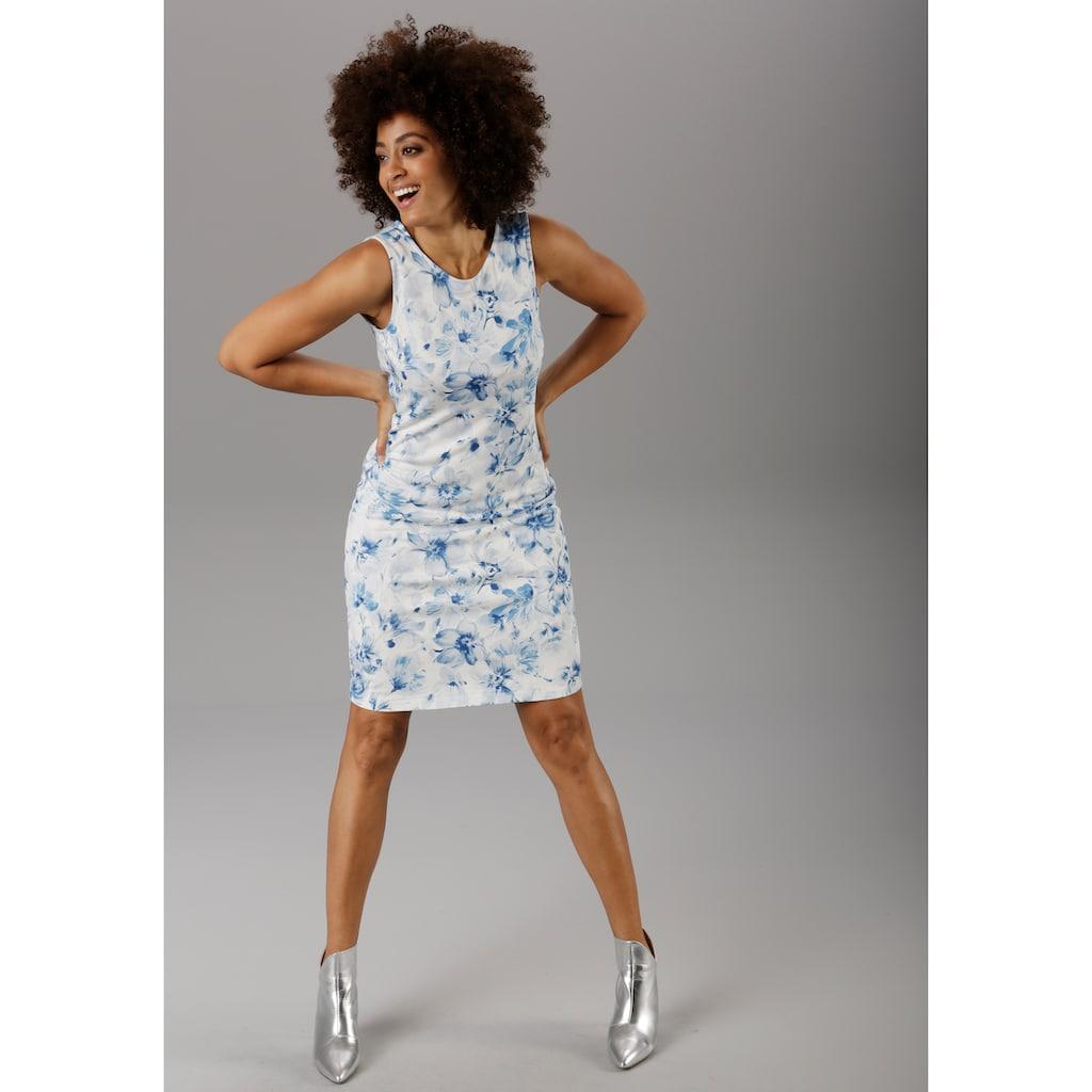Aniston SELECTED Sommerkleid, im zarten Blumendruck - NEUE KOLLEKTION