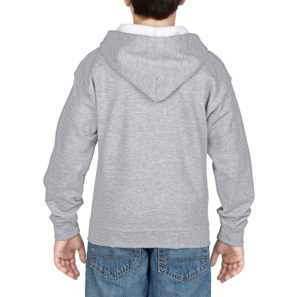 Gildan Kapuzennickijacke »Heavy Blend Kinder Kapuzenjacke«
