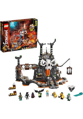 LEGO® Konstruktionsspielsteine »Verlies des Totenkopfmagiers (71722), LEGO® NINJAGO®«,... kaufen