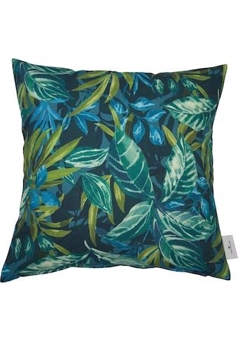 TOM TAILOR Kissenhülle »Mysterious Tropic«, (1 St.), mit tropischen Pflanzen kaufen