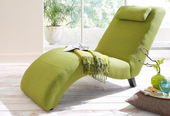 Relaxliege in Grün