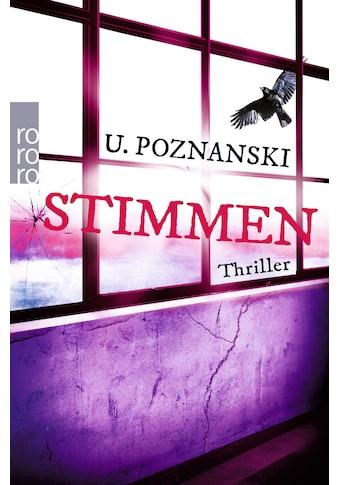 Buch »Stimmen / Ursula Poznanski« kaufen