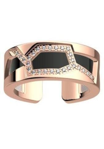 Les Georgettes Ring - Set »GIRAFFE ROTGOLD - ZIRKONIA, 8 mm, schwarz - weiss, GIRR8SZ - M4, GIRR8MZ - M4« (Set, 2 tlg.) kaufen