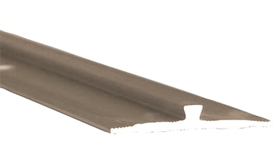 Slate Lite Abschlussprofil »Stoßprofil F-Line«, kleben oder schrauben, Stahloptik kaufen