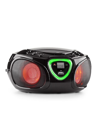 Auna Boombox CD USB MP3 MW/UKW - Radio Bluetooth 2.1 LED »Roadie Boombox« kaufen