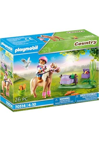 Playmobil® Konstruktions-Spielset »Sammelpony Isländer (70514), Country«, (26 St.),... kaufen