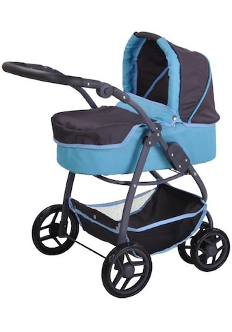 Knorrtoys® Puppenwagen »Coco - tec blue«, 2-in-1 kaufen