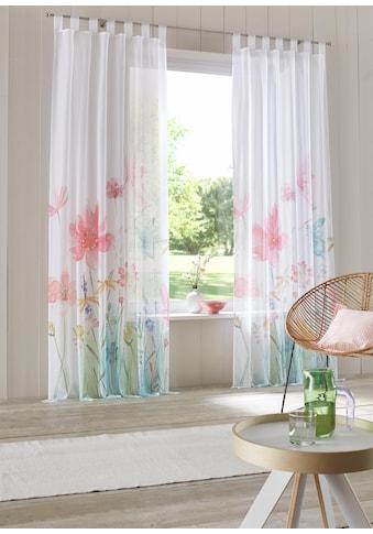 Home affaire Gardine »Feenza«, Vorhang, Fertiggardine, transparent kaufen
