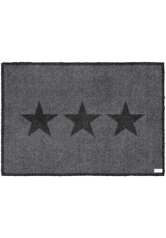 Fußmatte, »Sterne«, Zala Living, rechteckig, Höhe 7 mm, maschinell getuftet kaufen