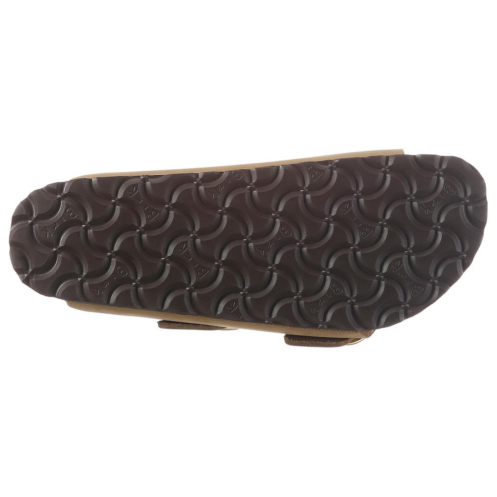 Birkenstock Pantolette »ARIZONA«, Zweischnaller, in schmaler Schuhweite, Leder