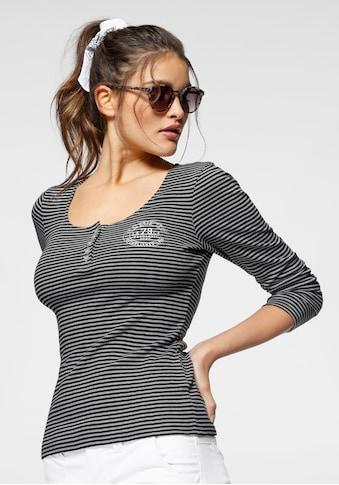 KangaROOS Langarmshirt, in maritimer Ringeloptik kaufen