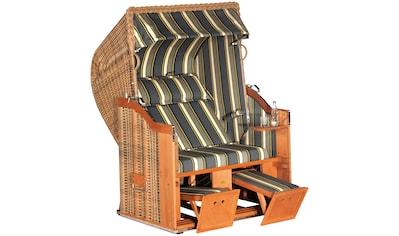 SONNEN PARTNER Strandkorb »Classic 69«, BxTxH: 130x90x160 cm, marone kaufen