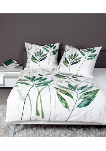 Janine Wendebettwäsche »modern art 42066«, mit Blättern kaufen
