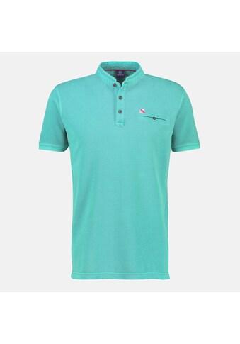 LERROS Henleyshirt, mit Stehkragen und Knopfleiste kaufen