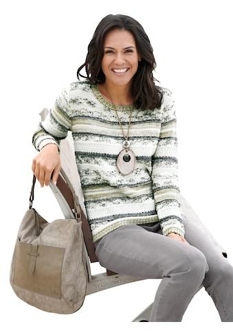 Casual Looks Pullover im attraktiven Streifenmuster kaufen