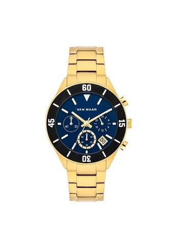 Van Maar Chronograph »VM019«, (1 tlg.), Armband aus Edelstahl kaufen
