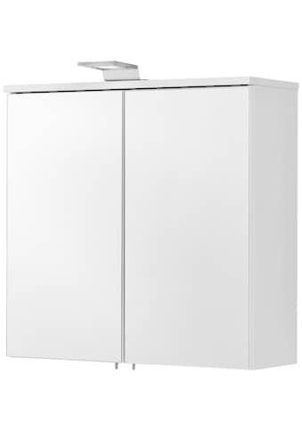 FACKELMANN Spiegelschrank »ATL 60 - weiß matt«, Breite 60,5 cm, 2 Türen kaufen