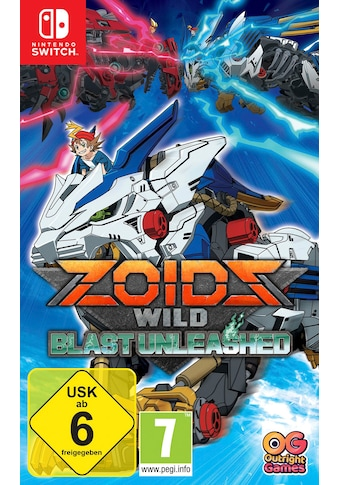 Outright Games Spiel »Zoids Wild: Blast Unleashed«, Nintendo Switch kaufen
