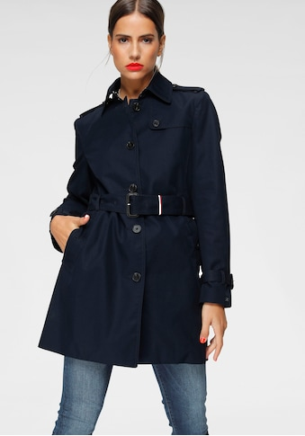 TOMMY HILFIGER Langjacke »HERITAGE SINGLE BREASTED TRENCH« kaufen