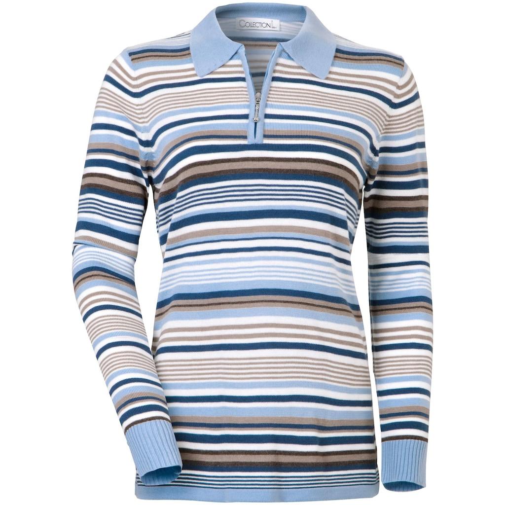 Casual Looks Polokragenpullover »Pullover«