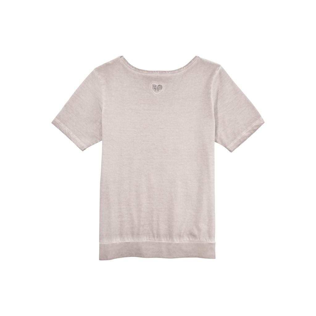 MarJo Trachtenshirt, im Used-Look