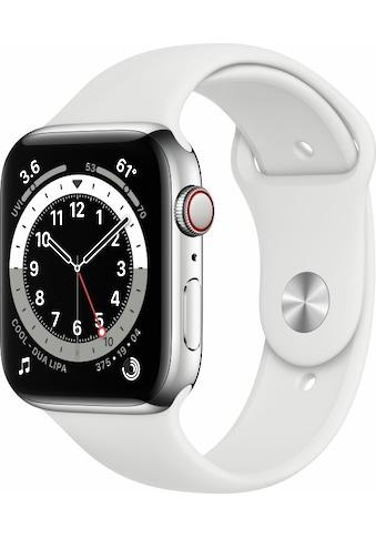 Apple Smartwatch »Series 6, GPS, Aluminium-Gehäuse, 44 mm mit Sportarmband« kaufen
