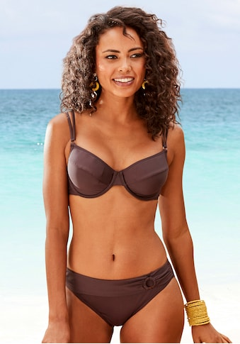 s.Oliver Bikini-Hose »Rome«, mit Umschlagbund kaufen