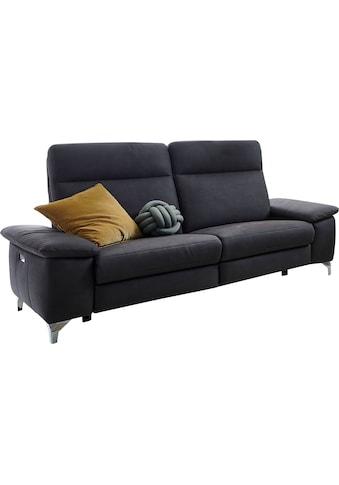 DELAVITA 2,5-Sitzer »Florus«, mit klappbaren Armlehnen, wahlweise ohne, mit manueller oder mit motorischer Relaxfunktion kaufen