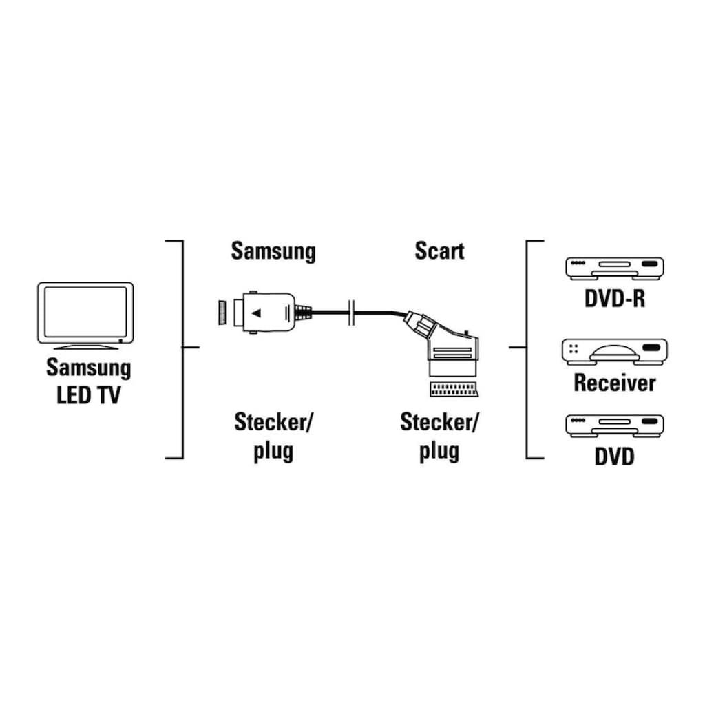 Hama Scart Adapter für speziellen Samsung TV Anschluss