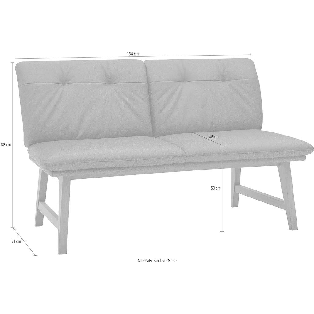ADA premium Polsterbank »Clint«, 2-Sitzer in verschiedenen Qualitäten und Farben