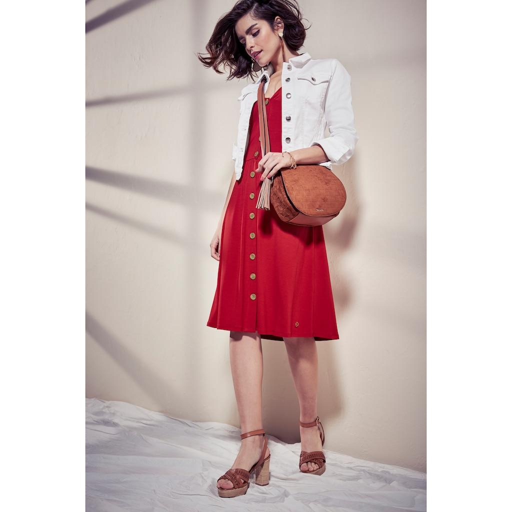 Tamaris Jerseykleid, mit Knöpfen - NEUE KOLLEKTION