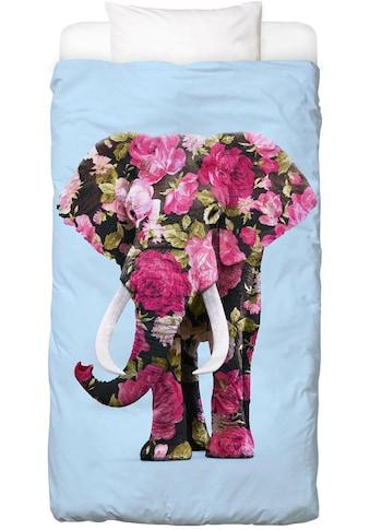 Bettwäsche »Floral Elephant«, Juniqe kaufen