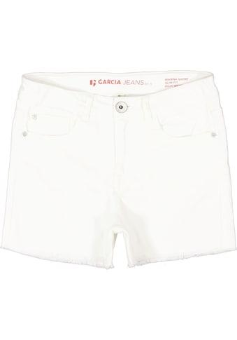 Garcia Shorts, mit ausgefranster Saumkante kaufen