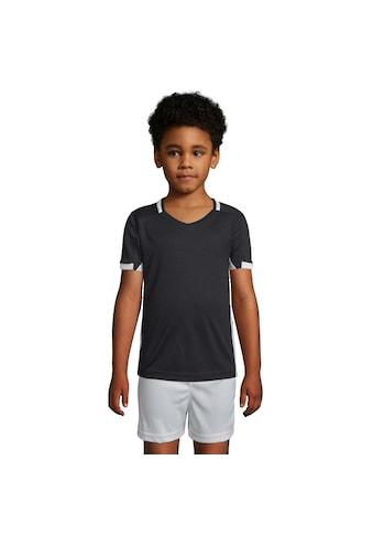 SOLS T-Shirt »Kinder Classico Kontrast Kurzarm Fußball« kaufen
