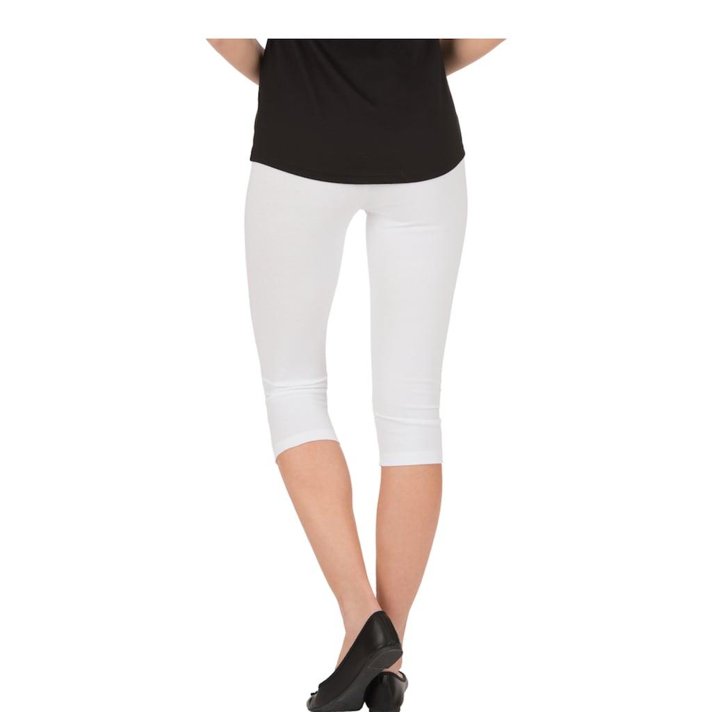 Trigema Leggings, mit Swarovski® Kristallen