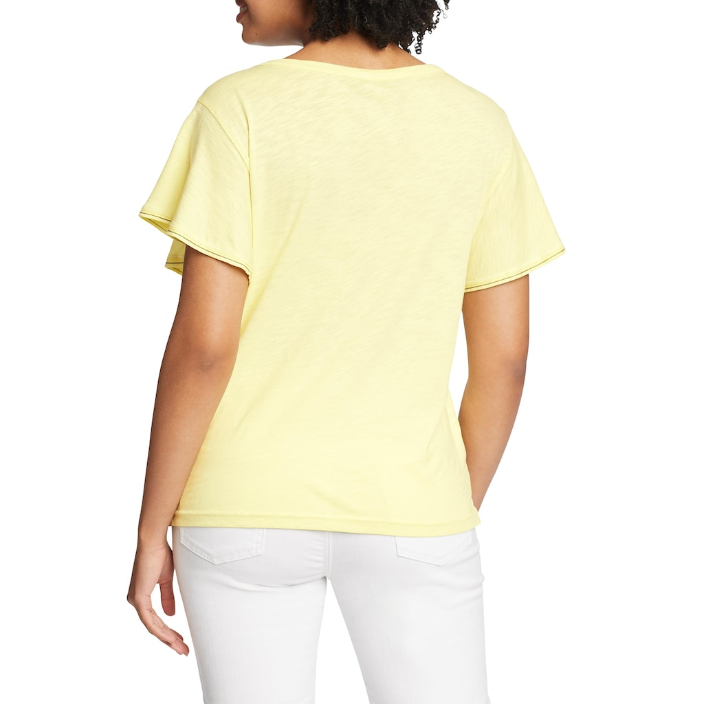 Eddie Bauer T-Shirt, Gate Check T-Shirt mit weiten Ärmeln