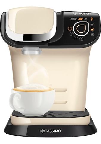 TASSIMO Kapselmaschine »MY WAY 2 WTAS6507«, Kaffeemaschine by Bosch, creme, mit Wasserfilter, über 70 Getränke, Personalisierung, vollautomatisch, einfache Zubereitung kaufen
