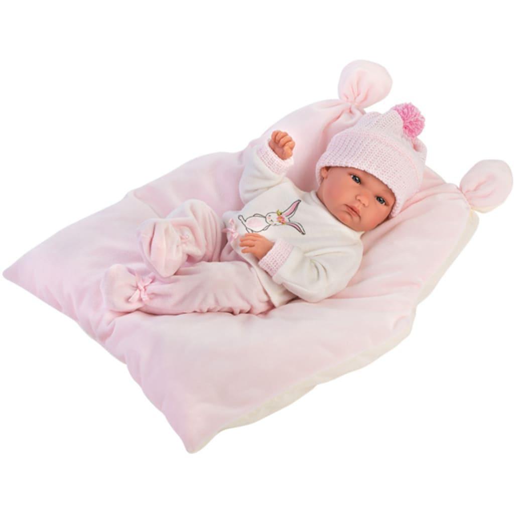 Babypuppe »Llorens, Bimba rosa, 35 cm«, Made in Europe