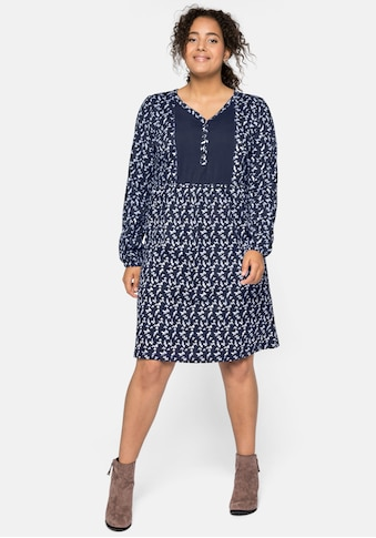 Sheego Jerseykleid, aus leichter Baumwollqualität kaufen