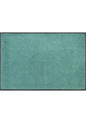 wash+dry by Kleen-Tex Fußmatte »Trend Uni«, rechteckig, 7 mm Höhe, Fussabstreifer,... kaufen