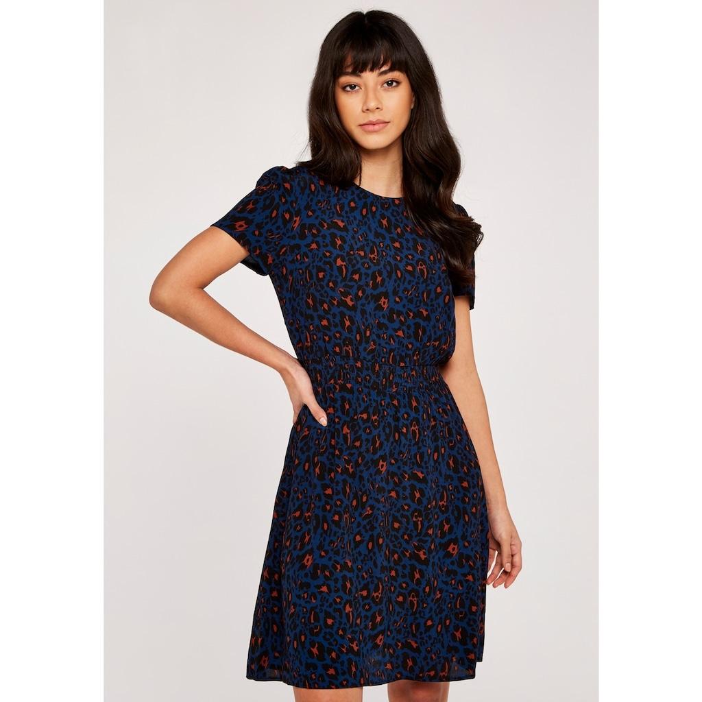 Apricot Druckkleid »Shirred Waist Short Sleeve Dress«, mit tollem Druck