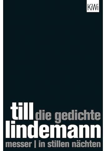 Buch »Die Gedichte / Till Lindemann, Matthias Matthies« kaufen