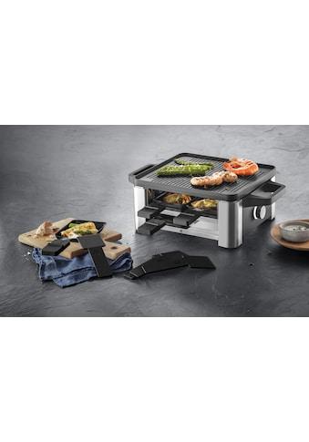 WMF Raclette »LONO for 4«, 4 St. Raclettepfännchen, 870 W kaufen
