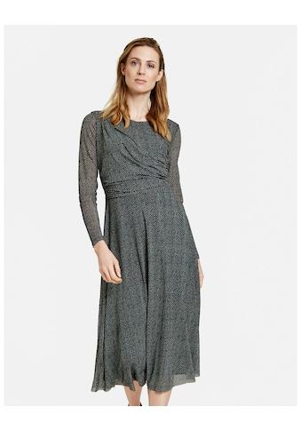 GERRY WEBER Druckkleid »Kleid mit Wickeleffekt« kaufen
