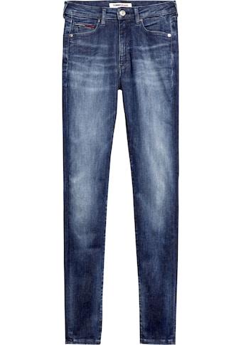 TOMMY JEANS Skinny - fit - Jeans »SYLVIA HR SUPER SKNY DYMDBS« kaufen