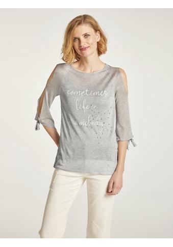 Pullover mit Schmuckapplikationen kaufen